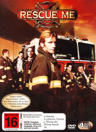 Rescue Me - Complete Season 1 (4 Disc Set) on DVD image