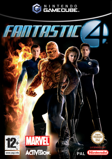 Fantastic 4 for GameCube