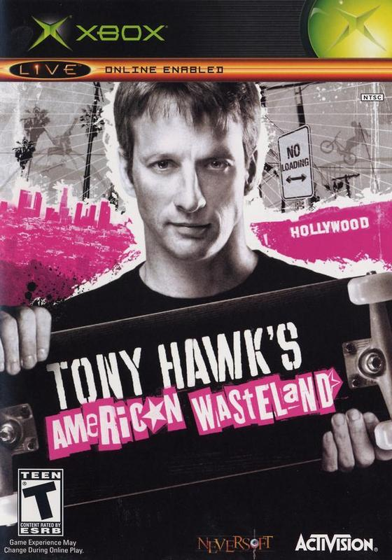 Tony Hawk's American Wasteland for Xbox