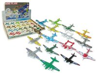 Die Cast Mini Plane (Assorted)
