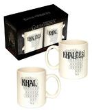 Game of Thrones: Khaleesi & Khal Mug Set