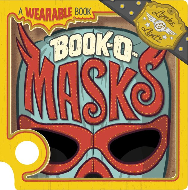 Book-O-Masks: A Wearable Book by Donald Lemke