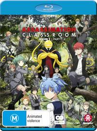 Assassination Classroom: Season 2 - Part 1 (Eps 1-13) on Blu-ray