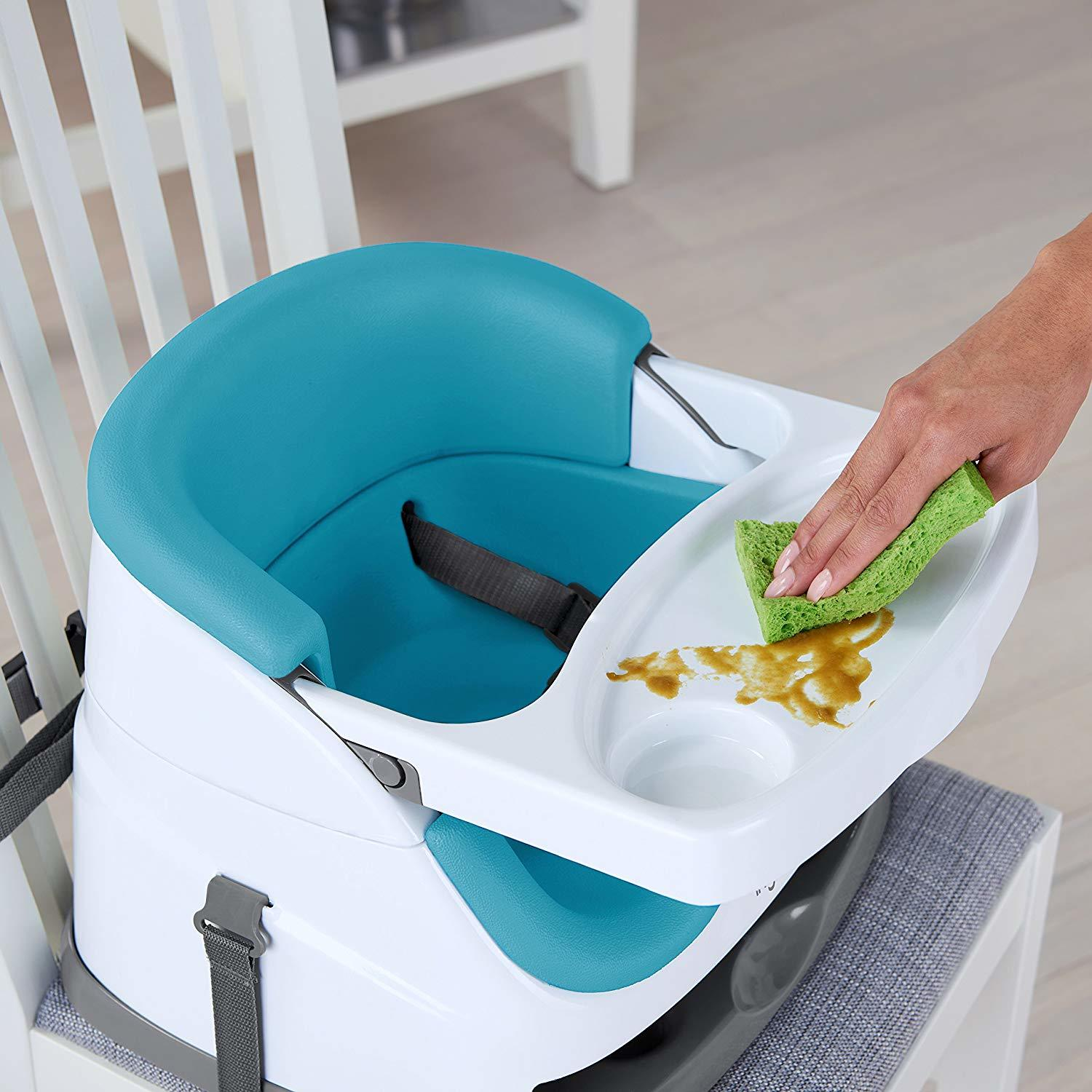 Ingenuity: Baby Base 2-in-1 Seat - Peacock Blue image