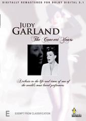 Judy Garland - The Concert Years on DVD