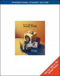 Research Methods for Social Work by Allen Rubin image
