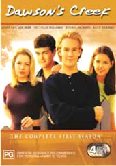 Dawson's Creek - Complete Season 1 (4 Disc Box Set) on DVD
