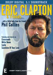 Eric Clapton & Friends (Phil Collins) on DVD