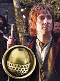 The Hobbit Pin - Bilbo Baggins Acorn Button