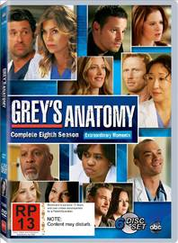 Grey's Anatomy - Complete Eighth Season on DVD