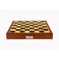 Dal Rossi Walnut Finish Chess Box 20""