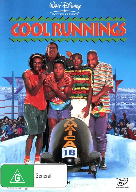 Cool Runnings on DVD