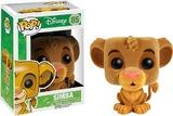Lion King Flocked Simba Pop! Vinyl Figure