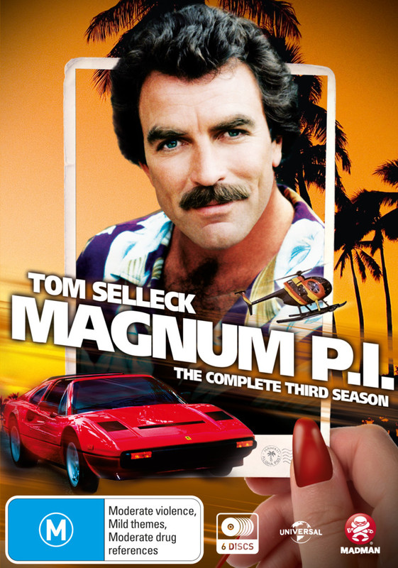 Magnum P.I Season 3 on DVD