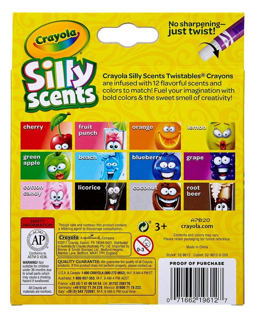 Crayola: Silly Scents - Mini Twistable Crayons (12-Pack) image