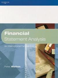 Financial Statement Analysis by Peter Walton image