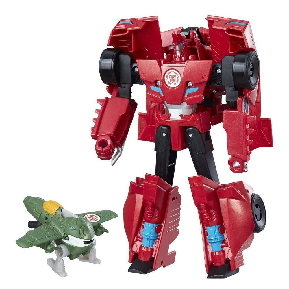 Transformers Robots In Disguise Activator Combiner Pack - Great Byte & Sideswipe image