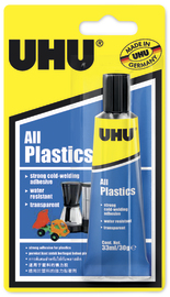 UHU: All Plastics Universal (33ml)