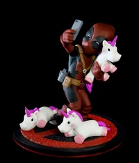 Deadpool: Unicorn Selfie - Q-Fig Diorama