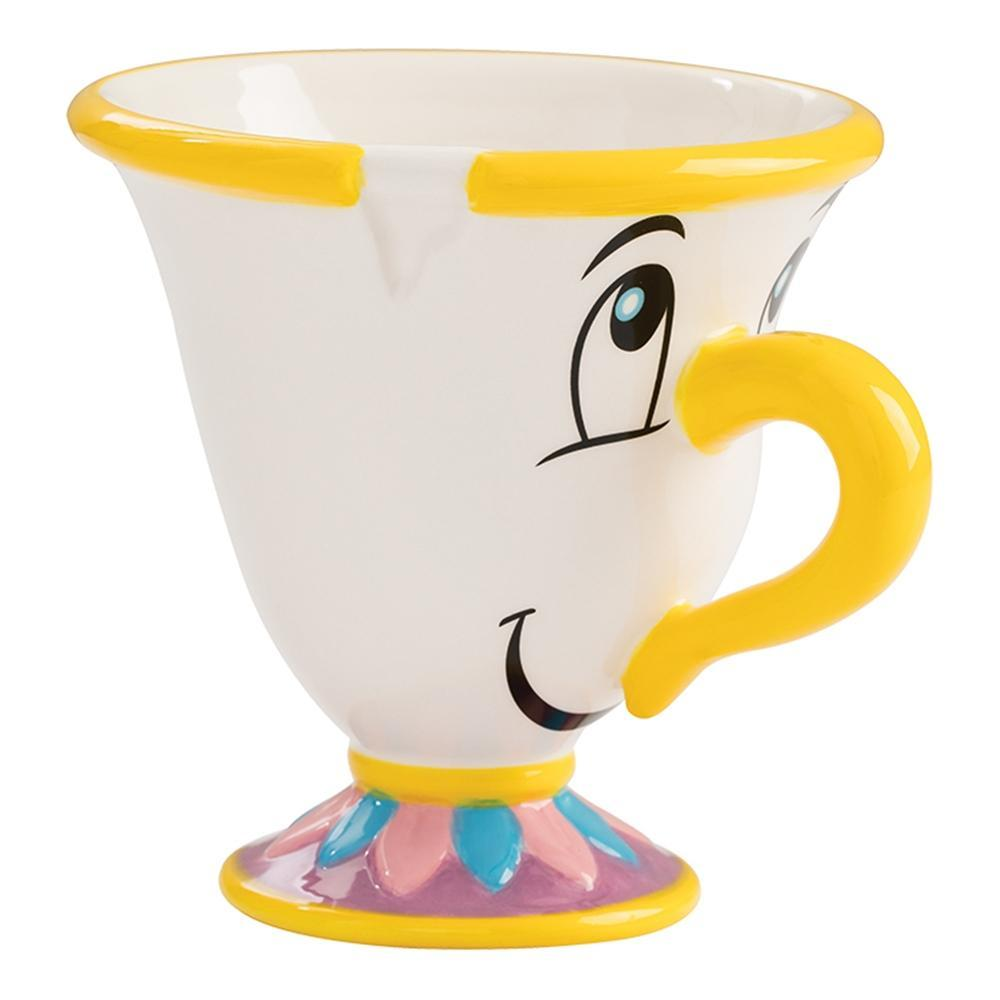 Beauty and the Beast: Chip - Sculpted Ceramic Tea Cup image