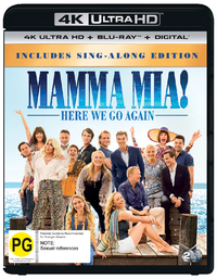 Mamma Mia: Here We Go Again! on UHD Blu-ray