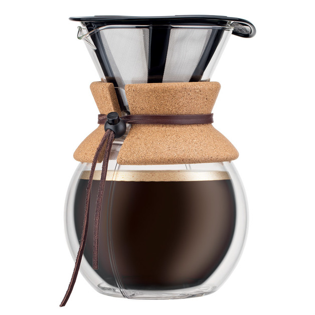 Bodum: Pour Over Coffee Maker with Permanent Stainless Steel Filter