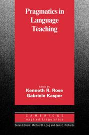 Pragmatics in Language Teaching image