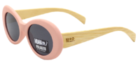 Moana Rd: Mae West Sunglasses - Pink