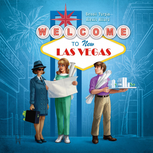Welcome to...New Las Vegas - Board game
