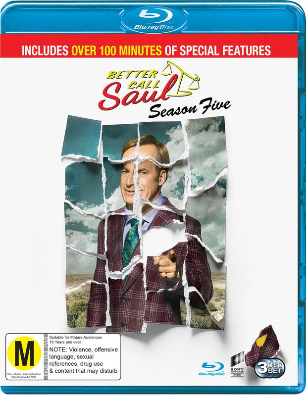 Better Call Saul: The Complete Fifth Season on Blu-ray