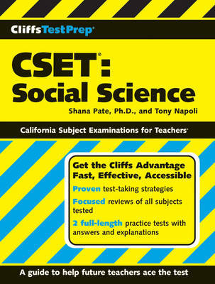 CSET: Social Science by Shana Pate image