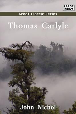 Thomas Carlyle by John Nichol image