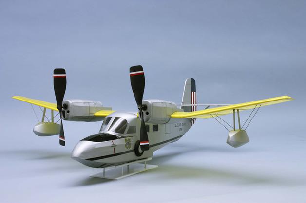 "U.S. Coast Guard J4F-1 Amphibious Rescue 30"" Wingspan Model Kit"