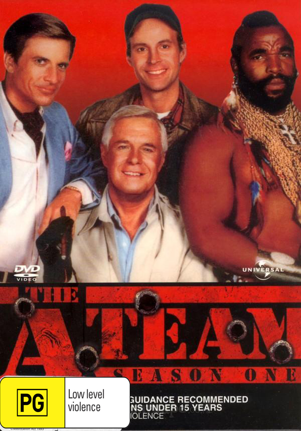 The A-Team - Season 1 (5 Disc Box Set) on DVD image