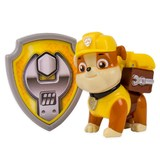 Paw Patrol Actionpack Pup Badge - Rubble
