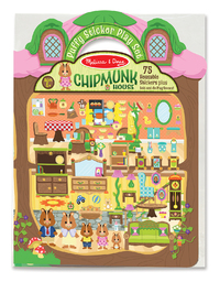 Melissa & Doug: Puffy Sticker Play Set Chipmunk House