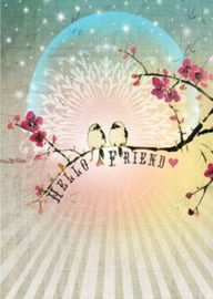 Papaya Multi-purpose Card - Hello Friend