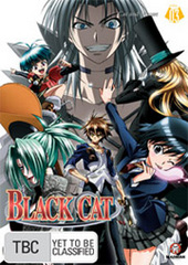 Black Cat - Vol. 3: Cat And Mouse on DVD