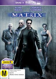 The Matrix on DVD, UV