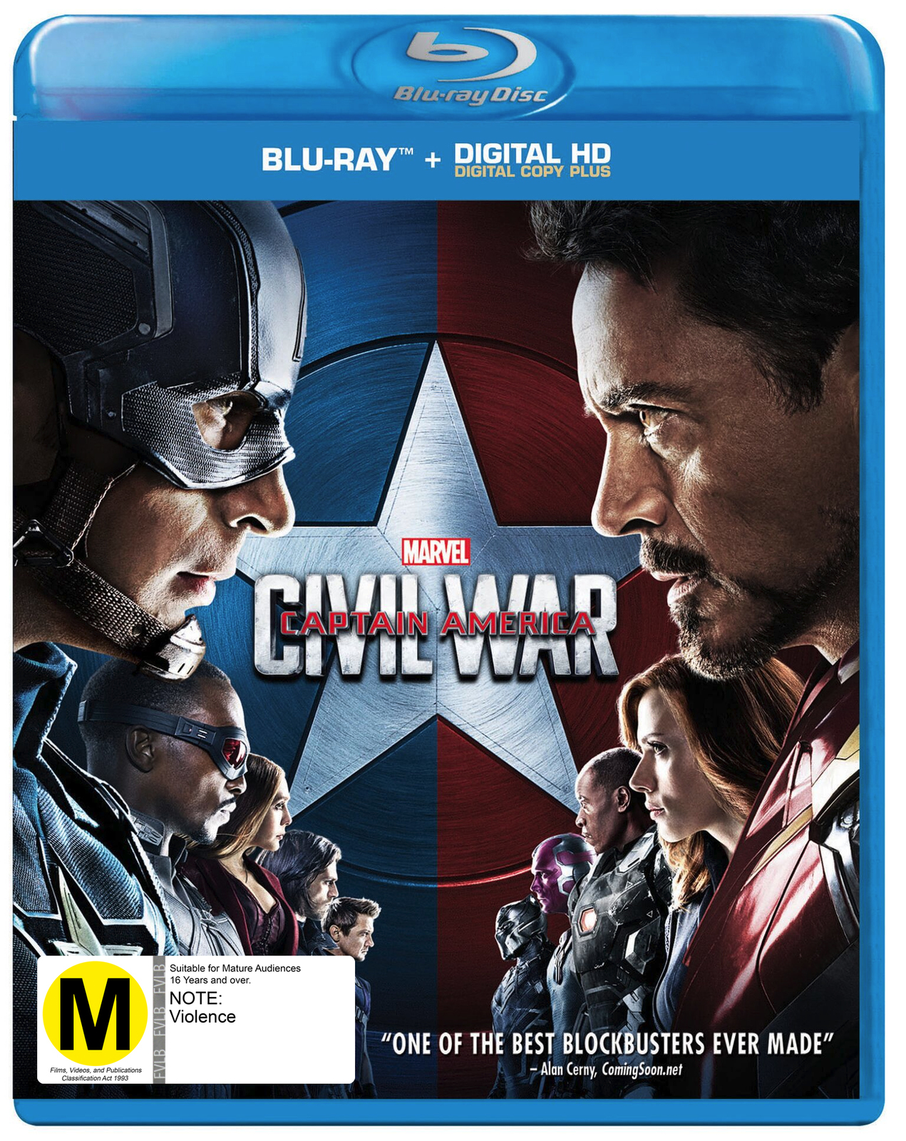 Captain America: Civil War on Blu-ray image