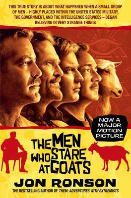 The Men Who Stare at Goats by Jon Ronson image