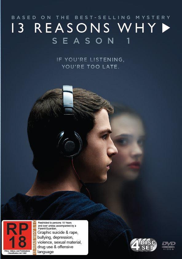 13 Reasons Why - Season 1 on DVD image