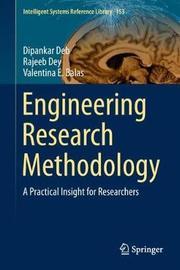 Engineering Research Methodology by Dipankar Deb