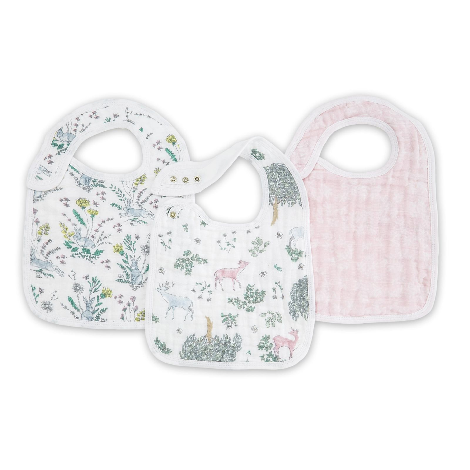Aden + Anais: Classic Snap Bib - Forest Fantasy (3 Pack) image