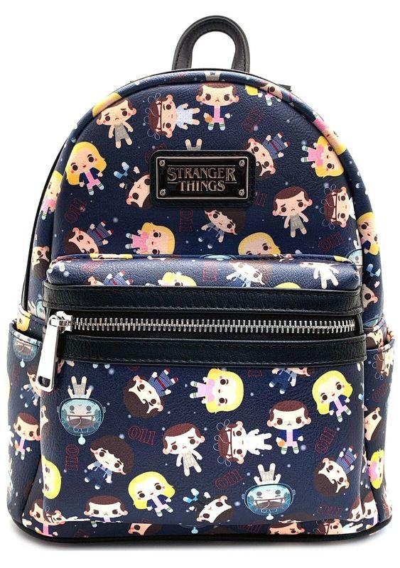 Loungefly: Stranger Things - Eleven Chibi Mini Backpack