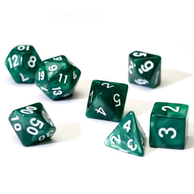 Sirius Dice Polyhedral Dice Set - Pearl Green