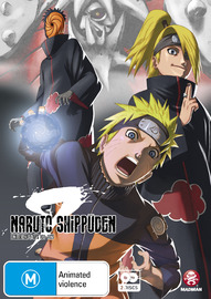 Naruto Shippuden Collection 09 (Eps 101-112) on DVD