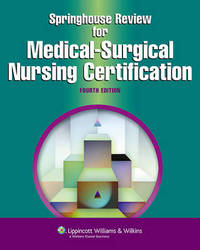 Springhouse Review for Medical-surgical Nursing Certification image