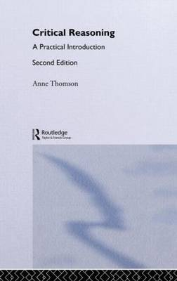 Critical Reasoning by Anne Thomson image
