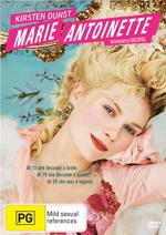Marie Antoinette on DVD
